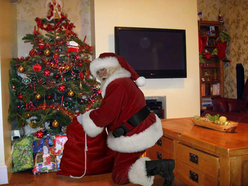 Santa-visit