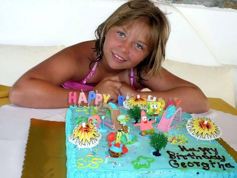 Georgina-&-cake