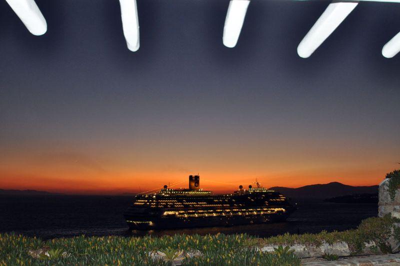 Cruise-sunset