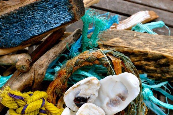 Rope driftwood