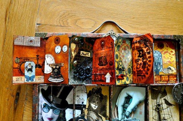 7 gypsies printers tray - Steam Punk